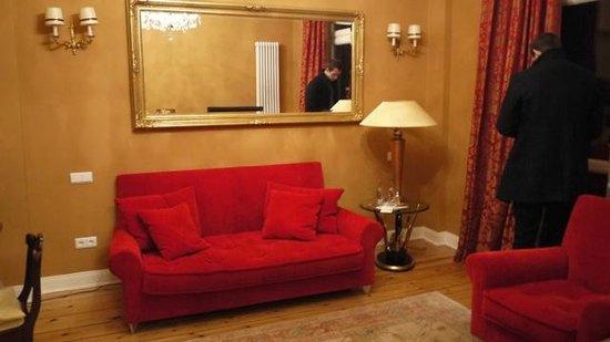 Eilenau Hotel : Living area of our suite