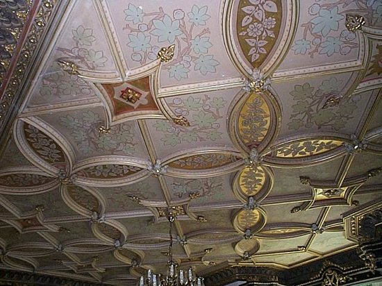 Rosehill House Hotel: Listed Gold leaf ceilings