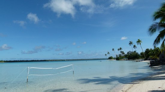 Maupiti Residence: Plage magnifique