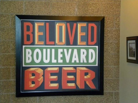 Boulevard Brewing Company : Inside the Gift Shop