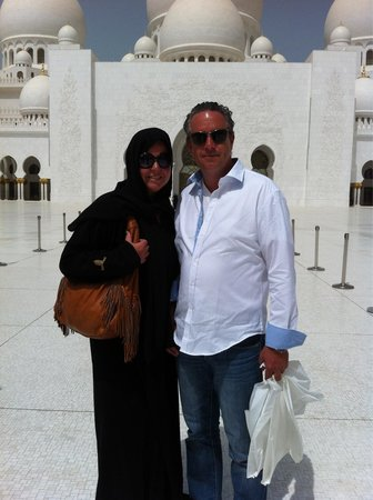 Mezquita Sheikh Zayed: Must see mosk in Abu Dhabi!