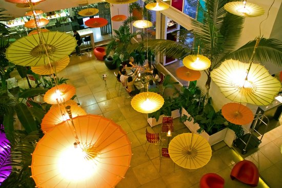 Now hotel's restaurante IRO