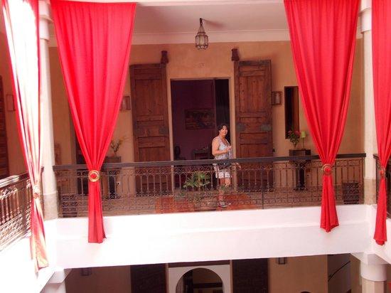 Dar Alif: vu du balcon