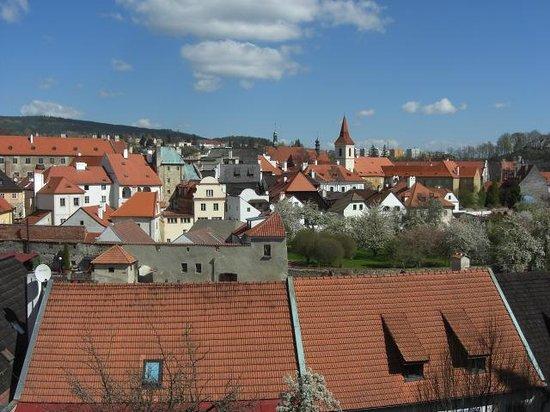 Historic Center of Cesky Krumlov : Skyline of the Centre