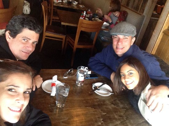 Westside Cafe & Market: Enjoying our moment at Vail in one of the best restaurants in town - JoseMaria ; Eric; Tiana y Y