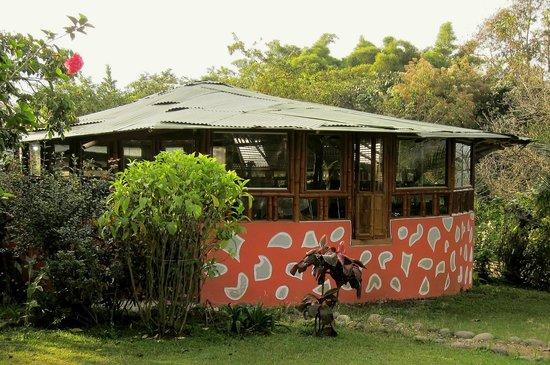 Finca Ecologica El Maco: Dining room