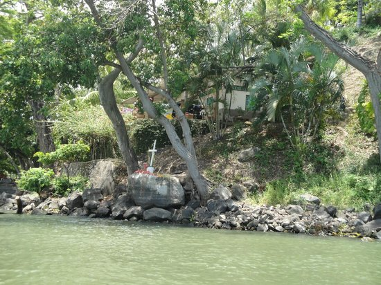 Las Isletas: view from the tour
