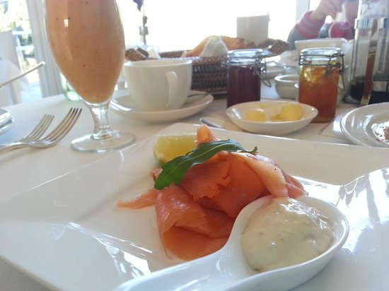 Leisure Isle Lodge : A wide variety of breakfasts to choose from