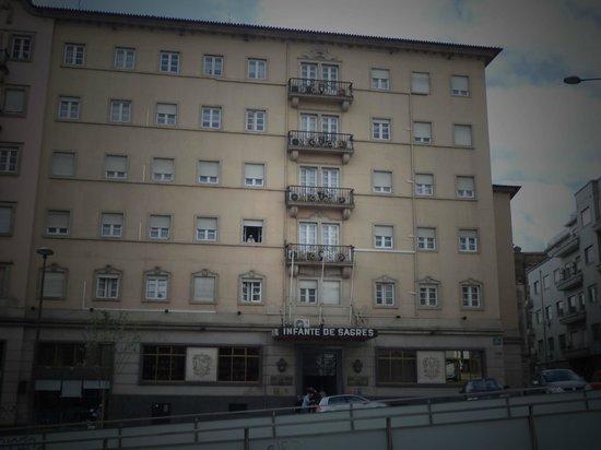 Hotel Infante Sagres: Façade