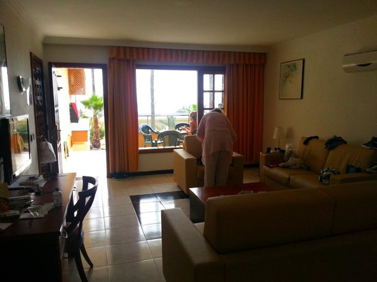 LABRANDA El Dorado: Living room with a view, this is the LARGE apartment, 2 bedrooms and 2 bathrooms..go for this on