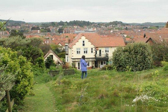 Ashbourne House B&B: View over Sheringham