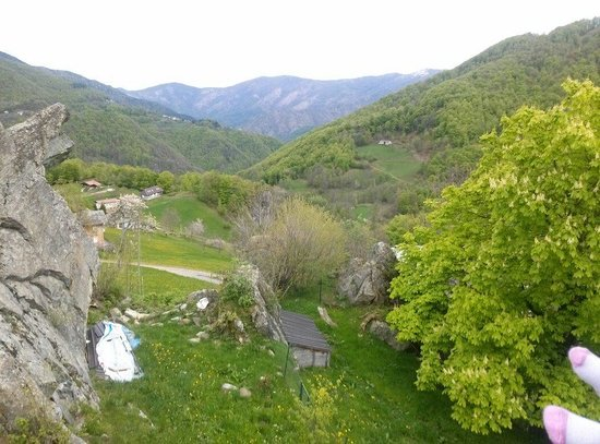 Agriturismo Il Runch: Panorama dal Runch