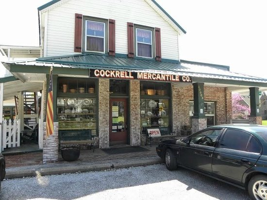 Cockrell Mercantile Company: Main Building