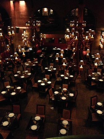 Buddha Bar: Restaurant view from the bar area