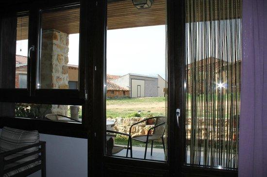Hotel Valdelinares : Vista desde el comedor.