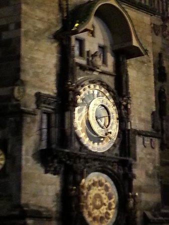 EA Hotel Rokoko: Clock, Old Town Square
