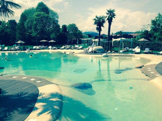 Piscina delle palme acqua termale foto di relilax terme miramonti spa montegrotto terme - Montegrotto terme piscina ...