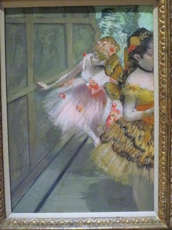 Norton Simon Museum: ドガ,Dancers in the Wings