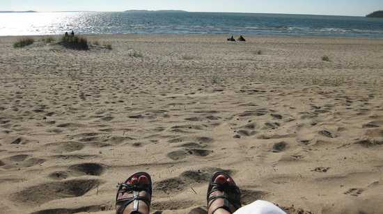 Yyteri Beach: Lot of sand  the best beach of Finland
