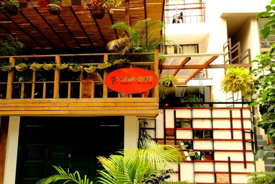 Casa Kiwi Hostel Medellin: Entrance