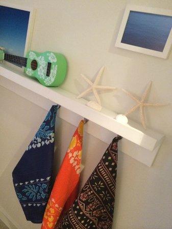 The Modern Honolulu: Each room has a beachy set-up in the corne
