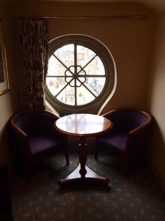 Rutland Arms Hotel: That window...