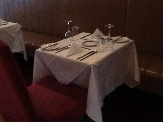 Seaview Hotel: restaurant