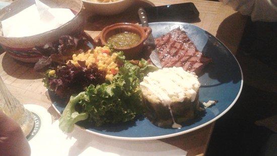Milagros : steak!