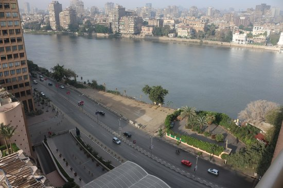 Conrad Cairo: View of the Nile from 15th Floor