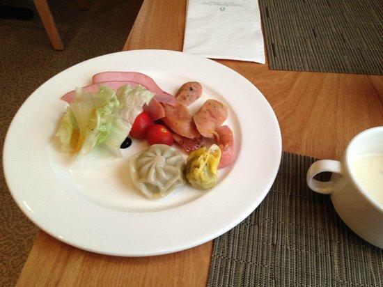 Doulos Hotel : Завтрак