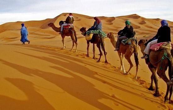 Merzouga Dunes: Morocco Tours Merzouga