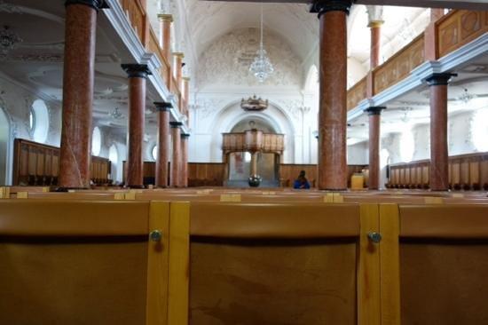 St. Peterskirche: inside