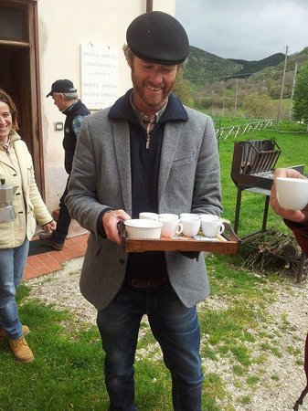 Wild Foods Italy: Espresso to kick start the day!