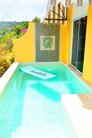 Sandals Regency La Toc Golf Resort and Spa : Private pool