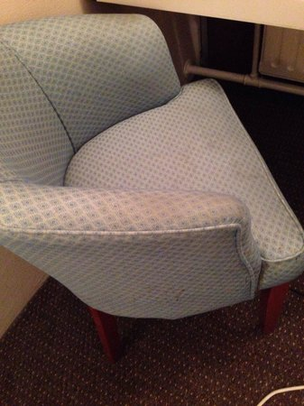 The Chace Hotel Coventry: Dirty chair