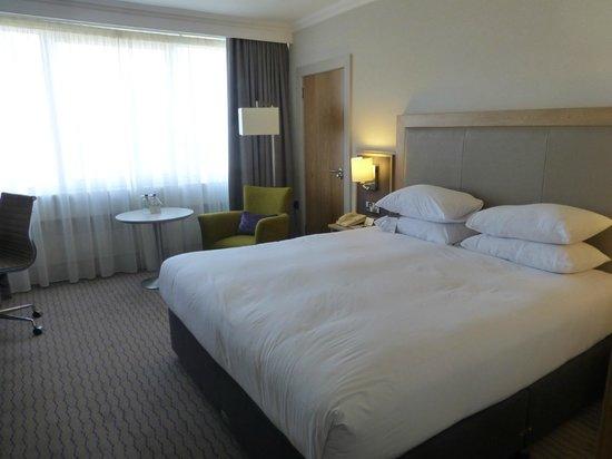 DoubleTree by Hilton Hotel Dublin - Burlington Road: Cama