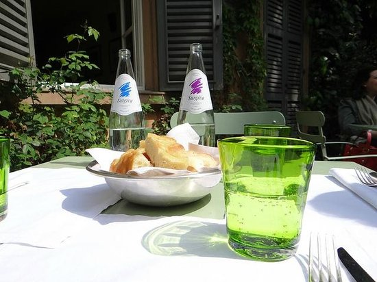 Caffe Arti e Mestieri : Only the beginning of a lovely lunch...