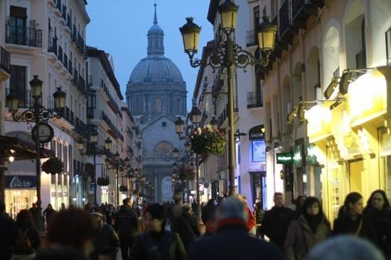 Calle Alfonso I : историческая улица