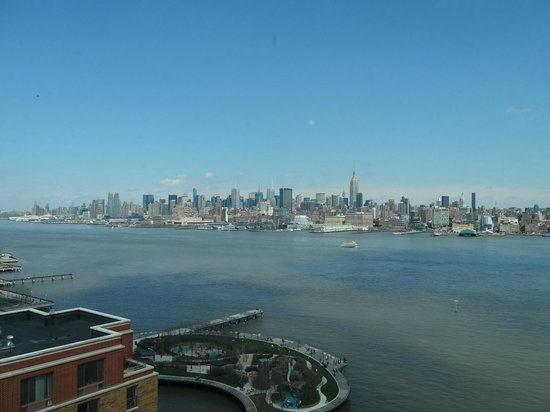 W Hoboken: View from my room