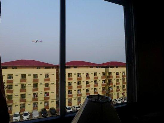Thong Ta Resort: Вид из окна