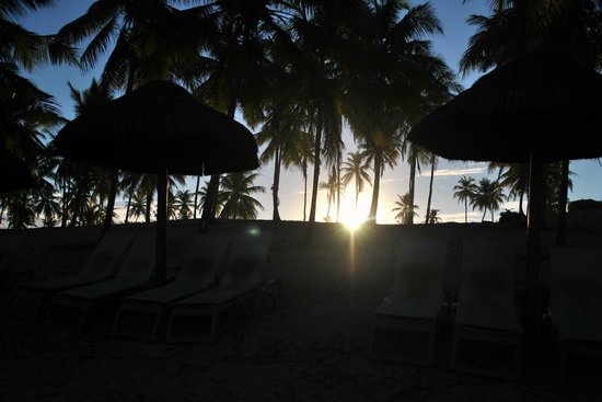 Grand Palladium Imbassai Resort & Spa: Atardecer