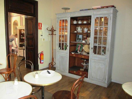 Café Scholl: Innenraum