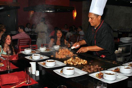 Grand Palladium Imbassai Resort & Spa: El restaurante japonés, cocinan en tu mesa (pedirlo al reservar)