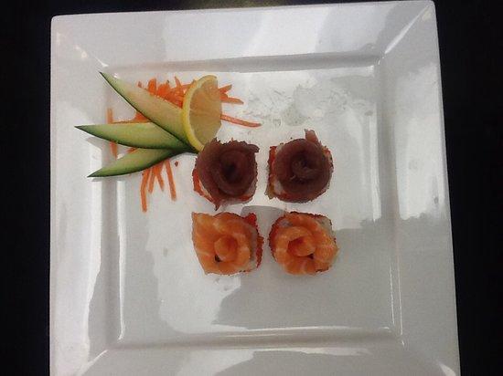 Taika & Sugarcreek Lounge: Sashimi plate