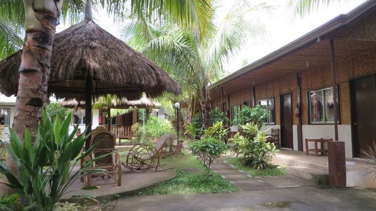 Paragayo Resort: Jardin et verdure