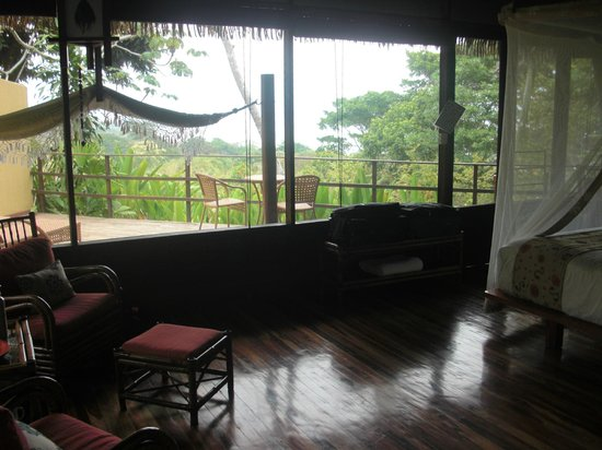 Lapa Rios Ecolodge Osa Peninsula: Bungalow View of Rainforest