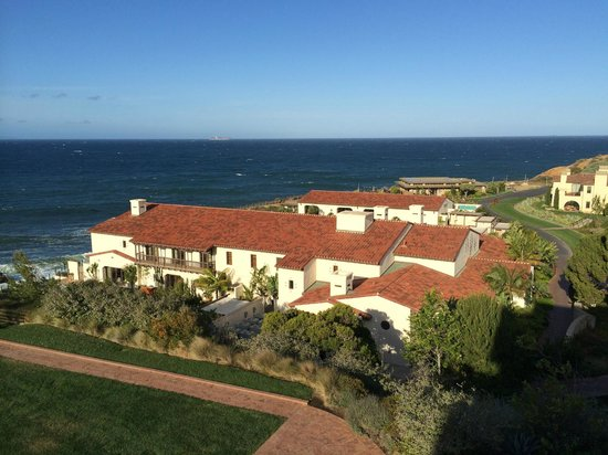 Terranea Resort : Spa and fitness center viewed from room