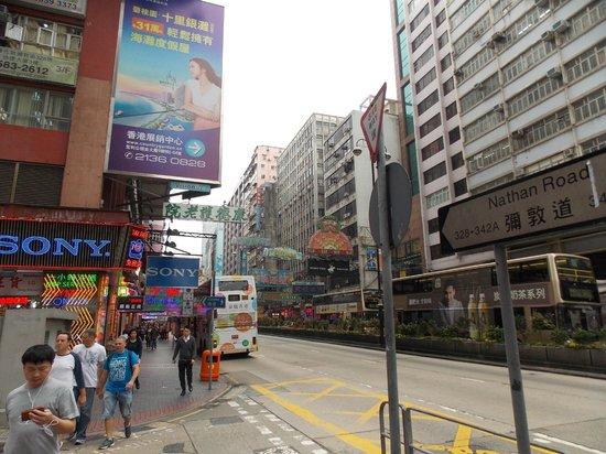 Novotel Hong Kong Nathan Road Kowloon : Area around hotel