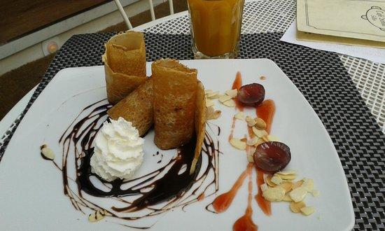 Café Scholl: Crèpe :-)