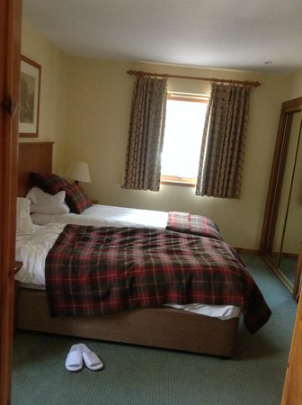 Luxury Woodland Lodges at Macdonald Aviemore Resort: Twin room